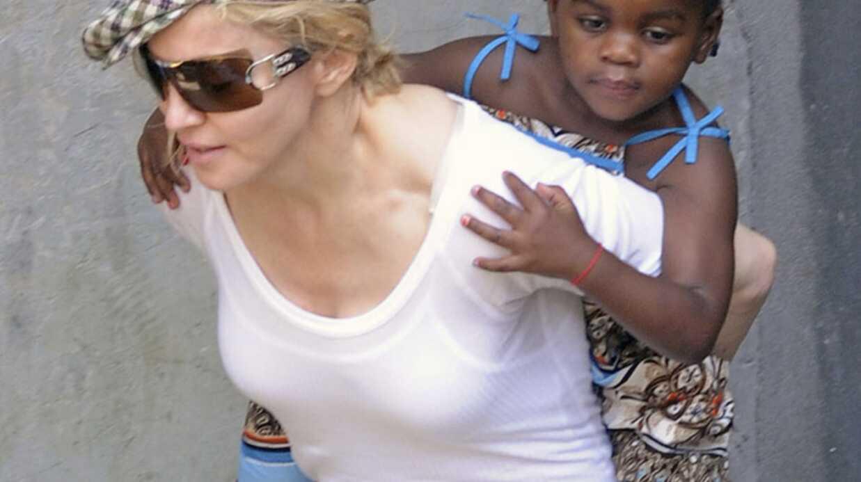 PHOTO Madonna: première sortie avec Mercy