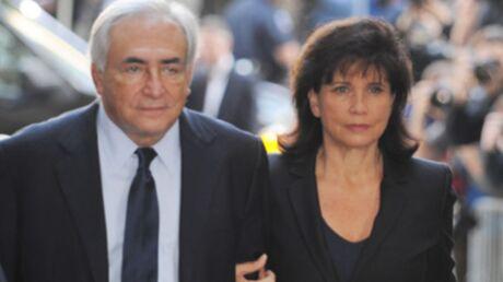 Anne Sinclair confie son inquiétude sur l'avenir de DSK