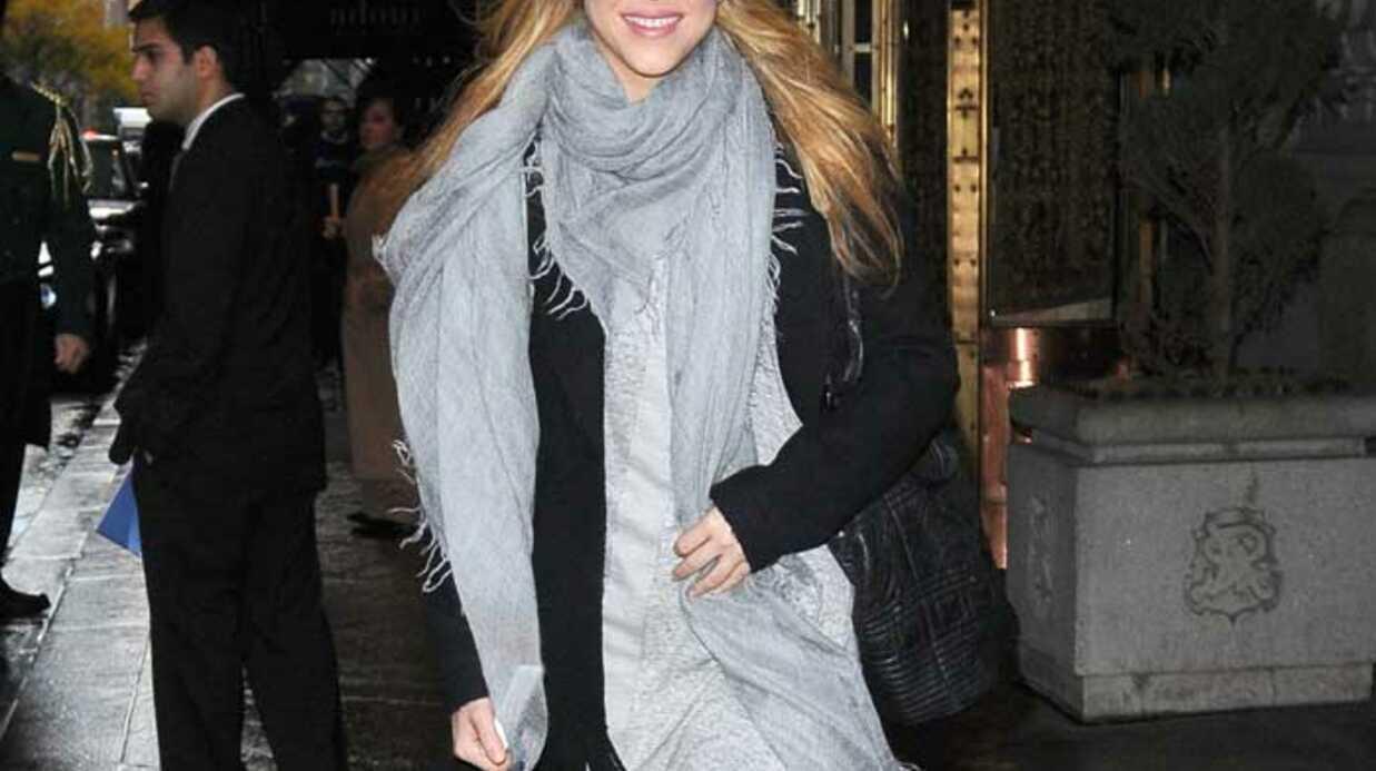 LOOK Shakira au naturel et sans maquillage