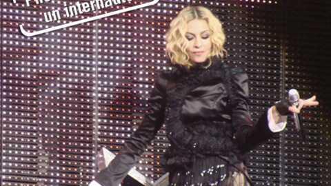 Madonna a eu une lourde amende après un concert