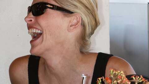 Sharon Stone: malgré la perte de la garde de son fils, elle garde le moral