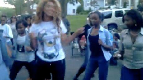 VIDEO Beyonce s'éclate dans une fête de quartier improvisée