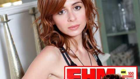 Julie Zenatti: nue et sexy pour FHM