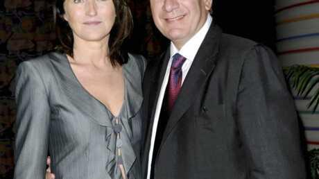 Cécilia Attias heureuse avec Richard Attias