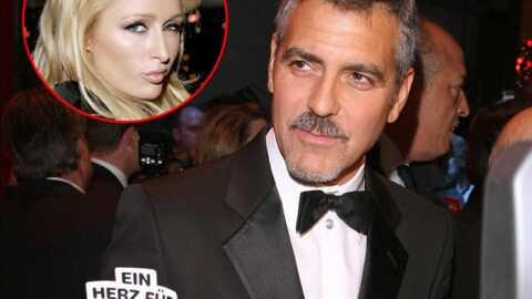 George Clooney flirterait avec Paris Hilton
