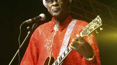 Chuck Berry: malaise en plein concert