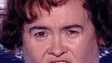 Susan Boyle fait sa tête de cochon
