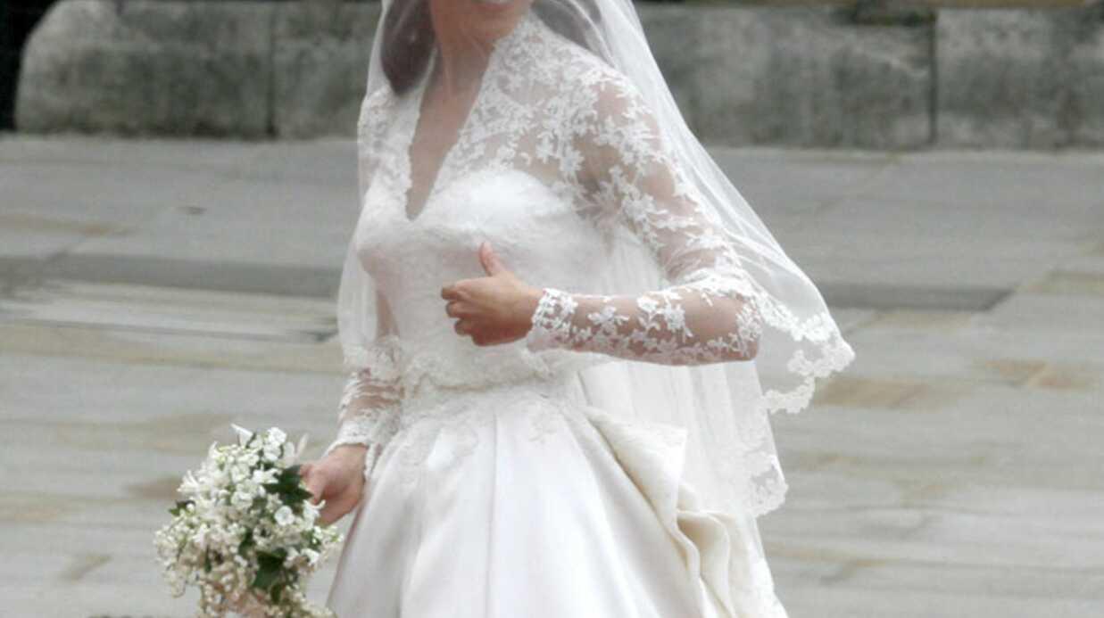 Offrez,vous la robe de mariée de Kate Middleton (en moins cher)