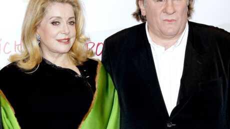 Gérard Depardieu fan de Catherine Deneuve