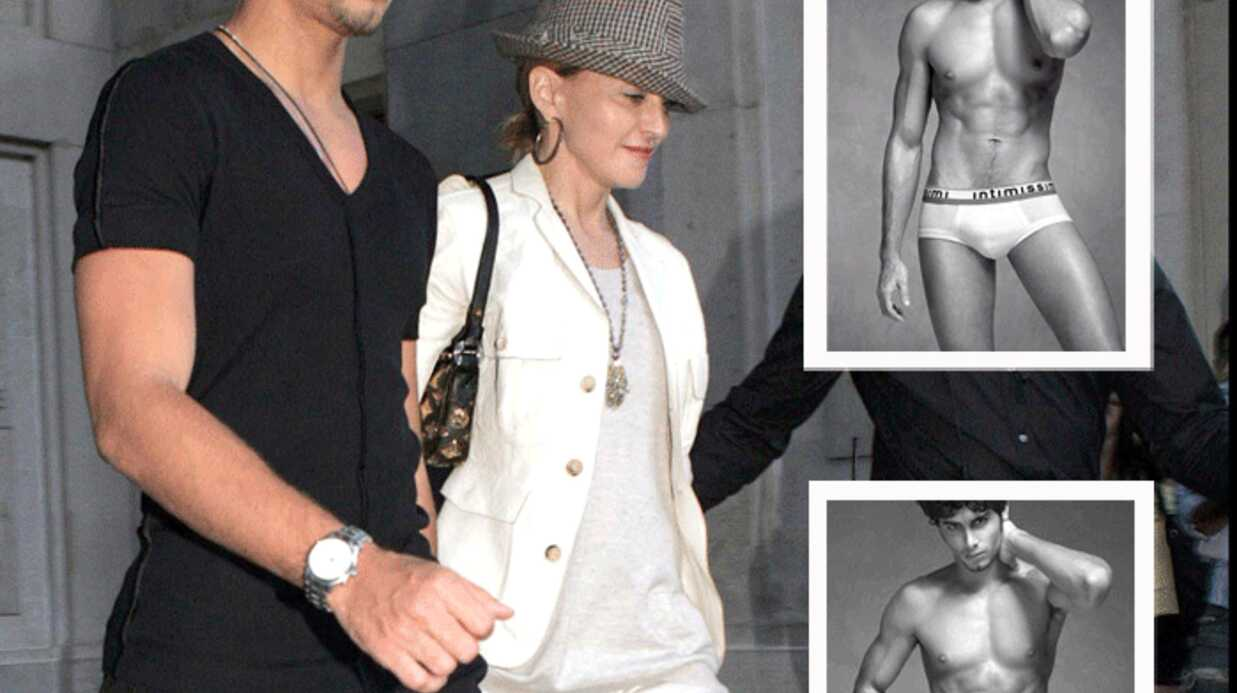 Madonna: son boyfriend Jesus Luz pose en slip