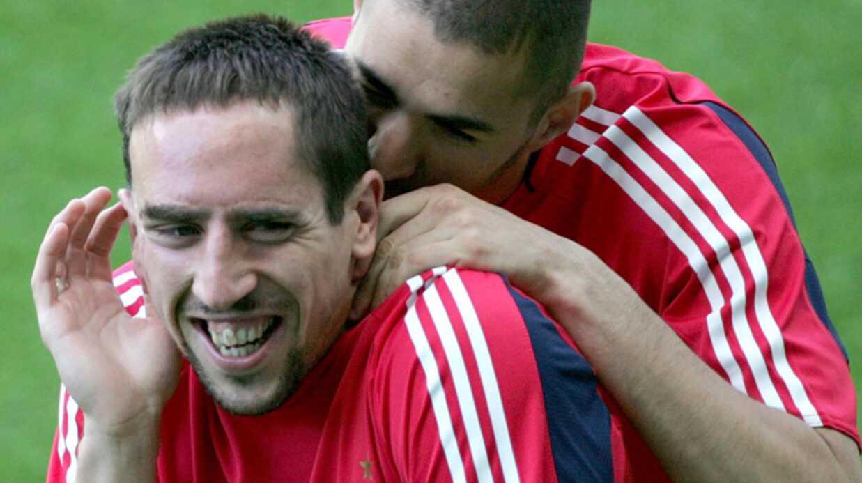 Franck Ribéry et Karim Benzema: pas inquiétés avant le mondial