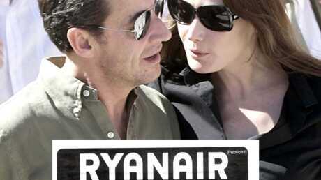 Nicolas Sarkozy & Carla Bruni Ryanair assigné en référé