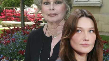 Carla Bruni taclée par Brigitte Bardot
