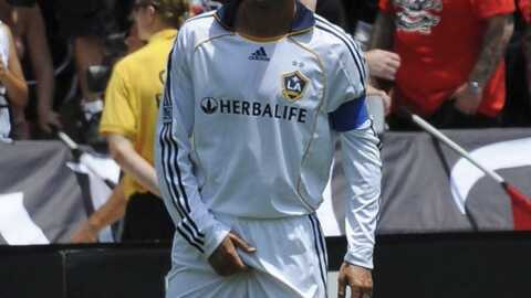 David Beckham Ça le démange