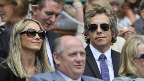 Ben Stiller en amoureux à Wimbledon
