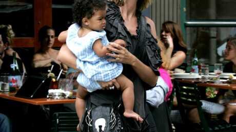 PHOTO Heidi Klum et sa petite Lou âgée de 8 mois et demi