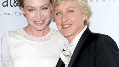 Ellen DeGeneres et Portia di Rossi Mariage chez George W. Bush
