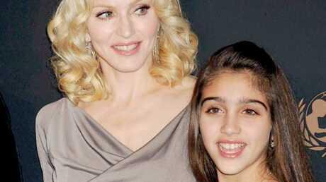 Madonna Le caprice de sa fille