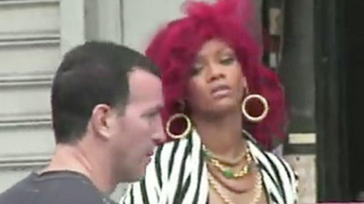 VIDEO Rihanna tourne son nouveau clip à New York