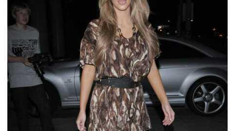 LOOK Kim Kardashian déjà en cuissardes de cet hiver
