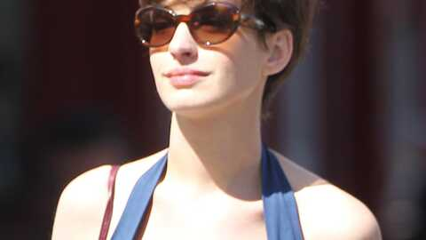 PHOTO Anne Hathaway : nouvelle coupe de cheveux