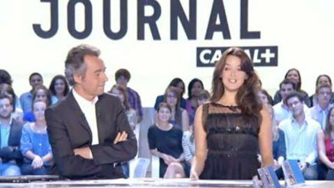 VIDEO La première fois de Charlotte Le Bon (au Grand Journal)