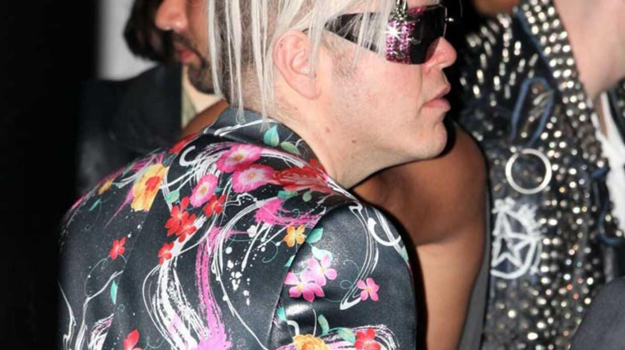 PHOTOS Perez Hilton au concert de Lady Gaga: horrible!