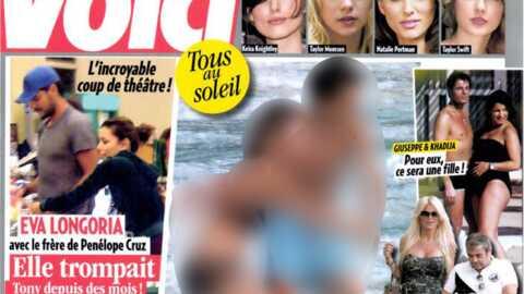 EXCLU Eva Longoria et Eduardo Cruz en photo dans Voici