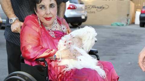 Elizabeth Taylor se trouverait actuellement entre la vie et la mort