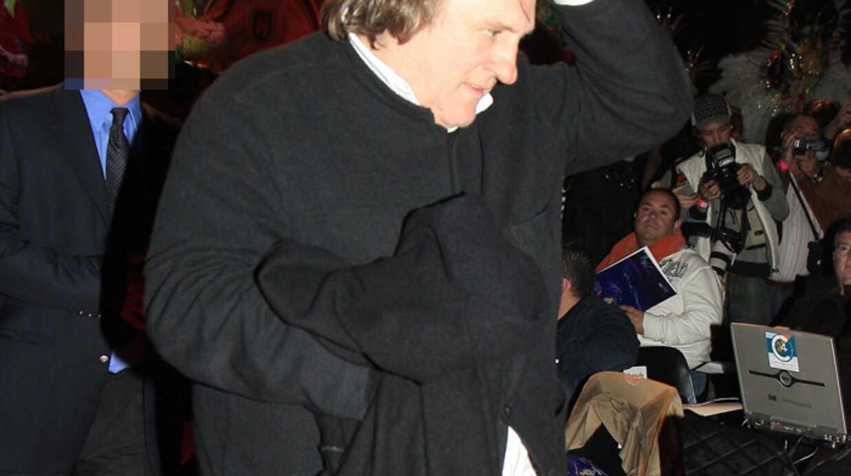 Gérard Depardieu veut quitter la France pour l'Italie