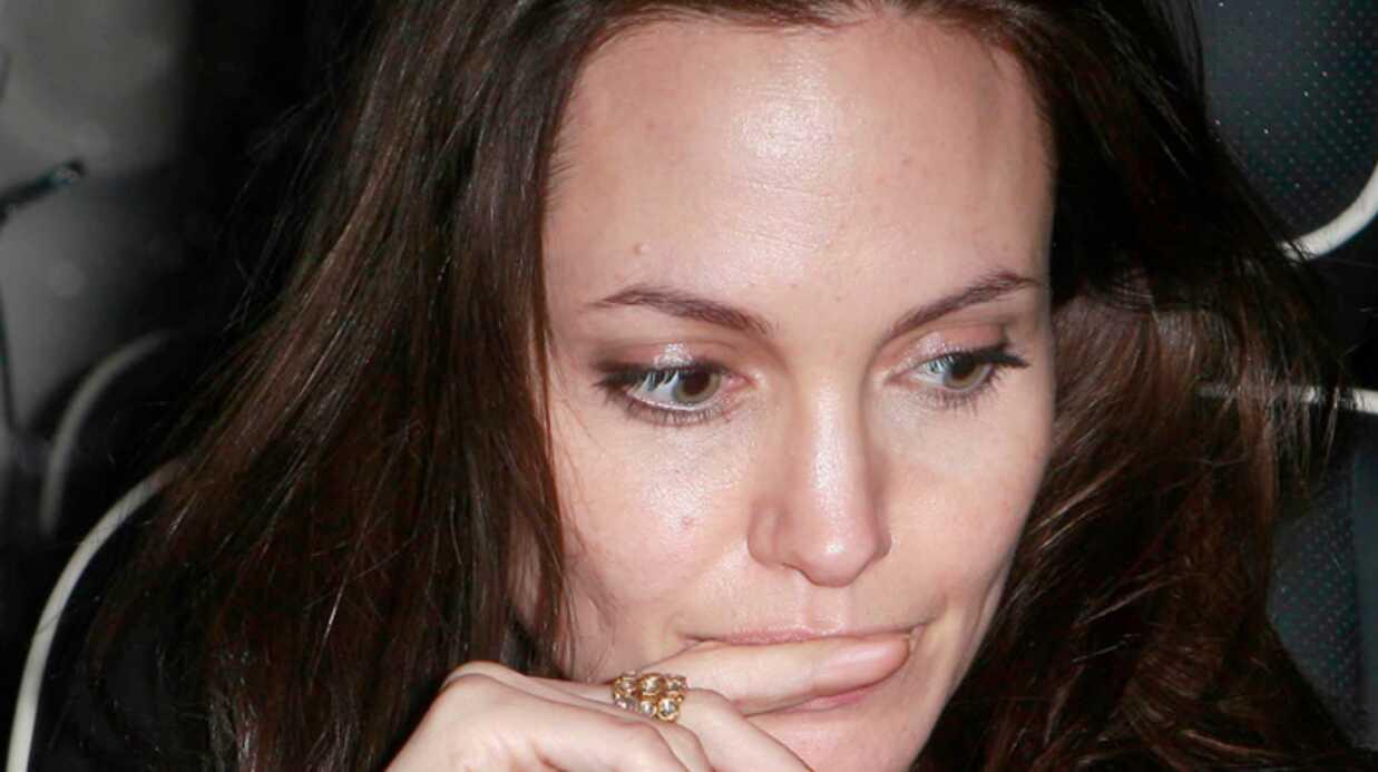 Angelina Jolie Grosse angoisse