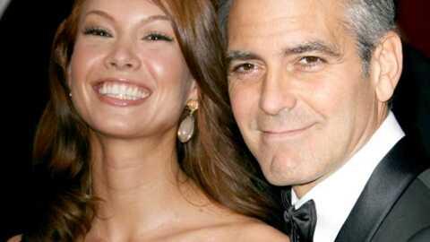 George Clooney & Sarah Larson Madame cache bien son jeu!