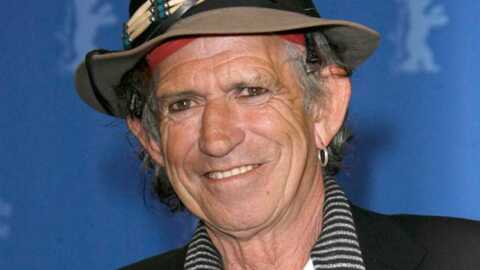 Keith Richards Artiste en (bonne) herbe