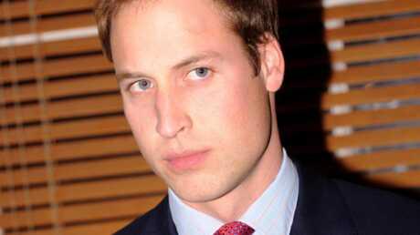 Le Prince William voyage en classe éco