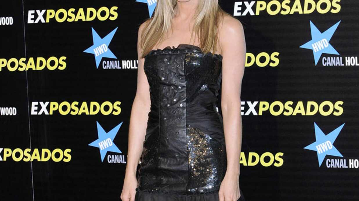 LOOK Jennifer Aniston en petite robe noire sexy