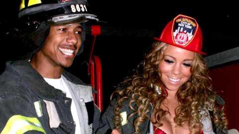 Mariah Carey: en pompier pour Halloween