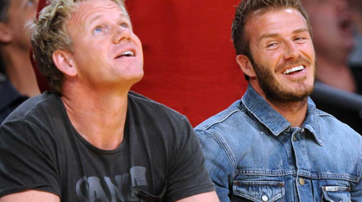David Beckham voudrait ouvrir un pub avec Gordon Ramsay
