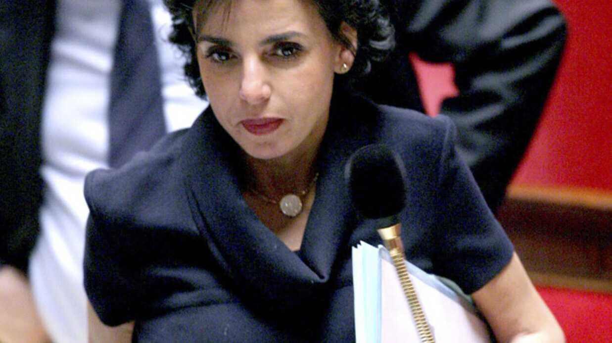 Rachida Dati enceinte ne circule plus à l'Assemblée nationale