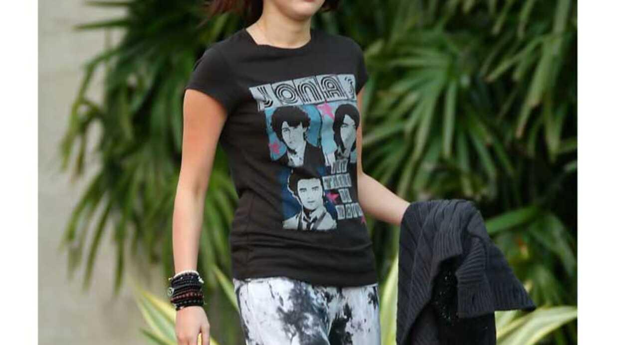 LOOK Miley Cyrus: toujours amoureuse de Nick Jonas?