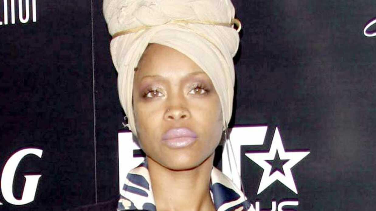 Erykah Badu a accouché chez elle de son 3ème enfant