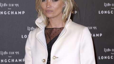 Kate Moss exige un espace fumeur chez Longchamp