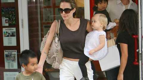 Angelina Jolie Son sommeil, c'est sacré!