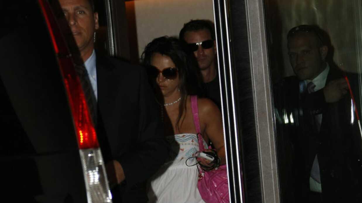 Britney Spears: démarrage en douceur à Paris