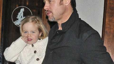 Brad Pitt a offert des diamants à Shiloh pour ses trois ans