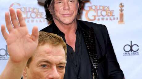 Mickey Rourke insulte Jean-Claude Van Damme