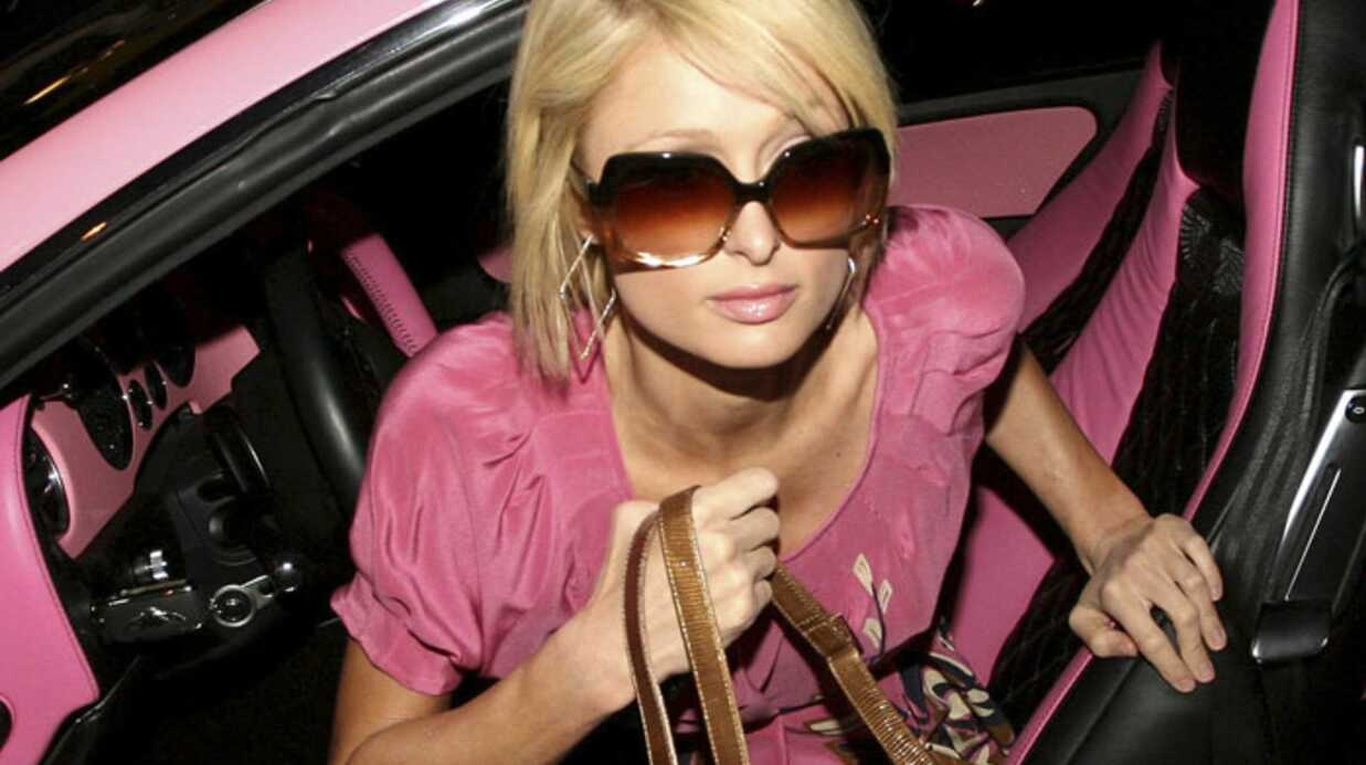 Paris Hilton: un tableau de bord incrusté de diamants