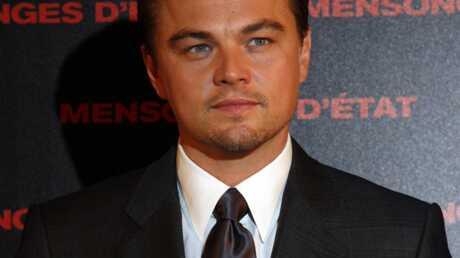 Leonardo DiCaprio à Paris pour Mensonges d'Etat soutient Obama