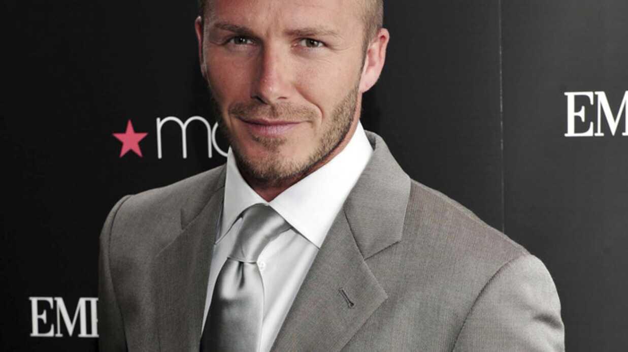 David Beckham a peur de vieillir