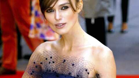 Keira Knightley a eu un gros problème sur le tournage de son dernier film