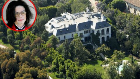 Michael Jackson: la maison où il s'est éteint à vendre